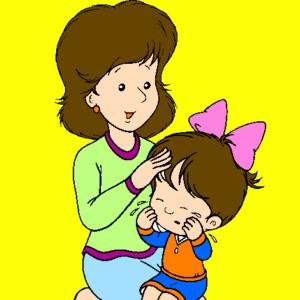 c6d4f0cf7 I bambini credono che un piccolo bacio su un graffio possa farlo guarire.
